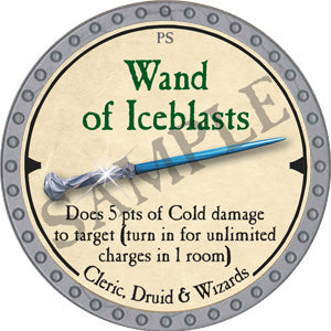 Wand of Iceblasts - 2019 (Platinum)