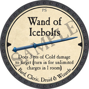 Wand of Icebolts - 2019 (Onyx) - C37