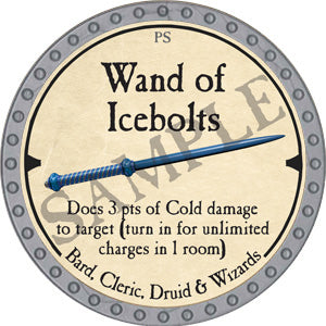 Wand of Icebolts - 2019 (Platinum)