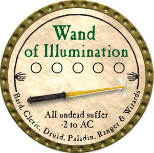 Wand of Illumination - 2012 (Gold)