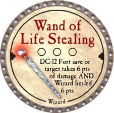Wand of Life Stealing - 2008 (Platinum)