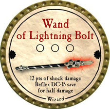 Wand of Lightning Bolt - 2011 (Gold) - C37