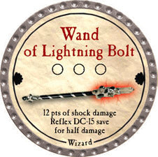 Wand of Lightning Bolt - 2011 (Platinum) - C37