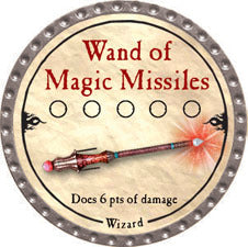 Wand of Magic Missiles - 2010 (Platinum) - C37