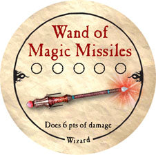 Wand of Magic Missiles - 2006 (Wooden) - C37