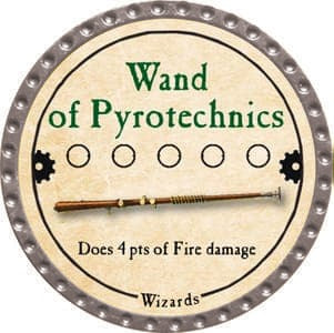 Wand of Pyrotechnics - 2013 (Platinum)