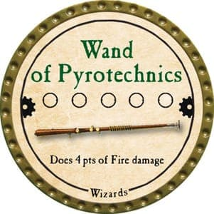 Wand of Pyrotechnics - 2013 (Gold)