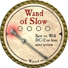 Wand of Slow - 2007 (Gold)