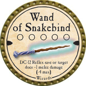 Wand of Snakebind - 2014 (Gold)