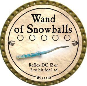 Wand of Snowballs - 2012 (Gold)