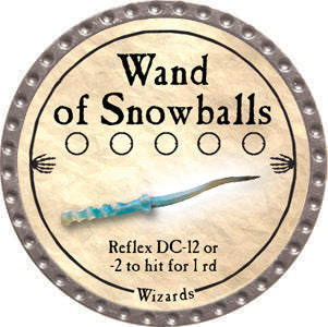 Wand of Snowballs - 2012 (Platinum)