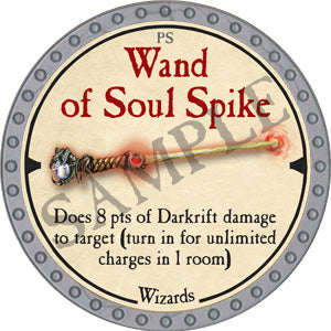 Wand of Soul Spike - 2019 (Platinum)