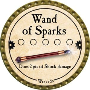 Wand of Sparks - 2013 (Gold)