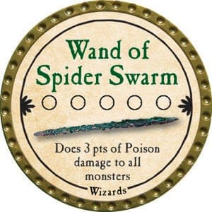 Wand of Spider Swarm - 2015 (Gold) - C49