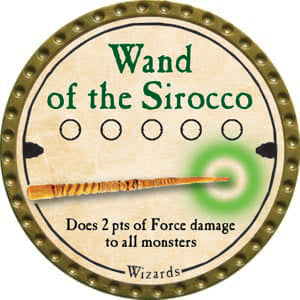 Wand of the Sirocco - 2014 (Gold)
