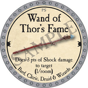 Wand of Thor's Fame - 2018 (Platinum)
