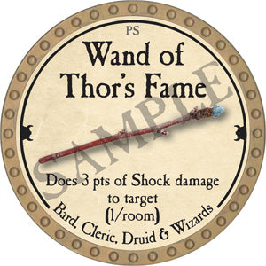Wand of Thor's Fame - 2018 (Gold)