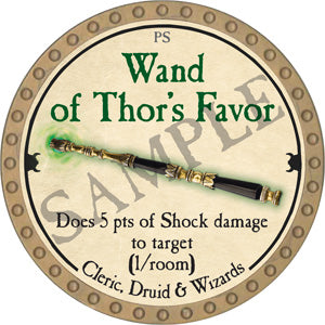 Wand of Thor's Favor - 2018 (Gold) - C37