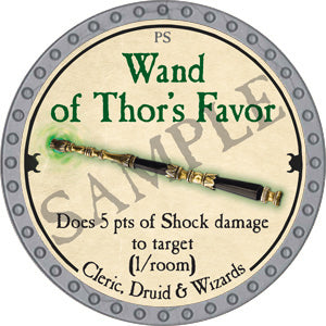 Wand of Thor's Favor - 2018 (Platinum) - C37