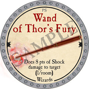 Wand of Thor's Fury - 2018 (Platinum)