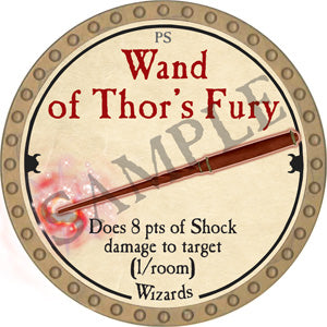 Wand of Thor's Fury - 2018 (Gold)