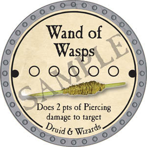 Wand of Wasps - 2017 (Platinum)