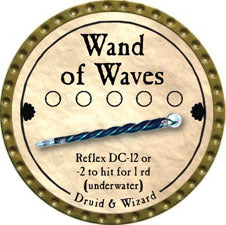 Wand of Waves - 2011 (Gold)