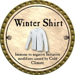 Winter Shirt - 2012 (Gold)