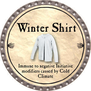 Winter Shirt - 2012 (Platinum)