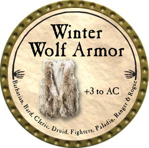 Winter Wolf Armor - 2012 (Gold)