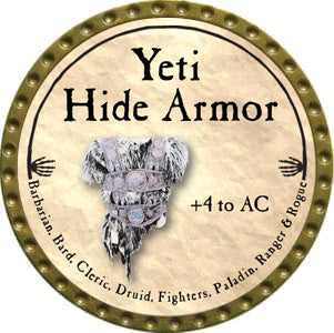Yeti Hide Armor - 2012 (Gold)
