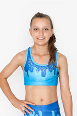 Cupcake Gymnastics Crop Top by GMD Activewear Australia