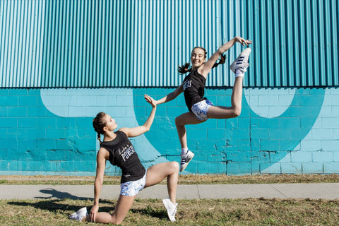 United Power Gymnastics collection by GMD Activewear Australia Supporting Dolly's Dream.