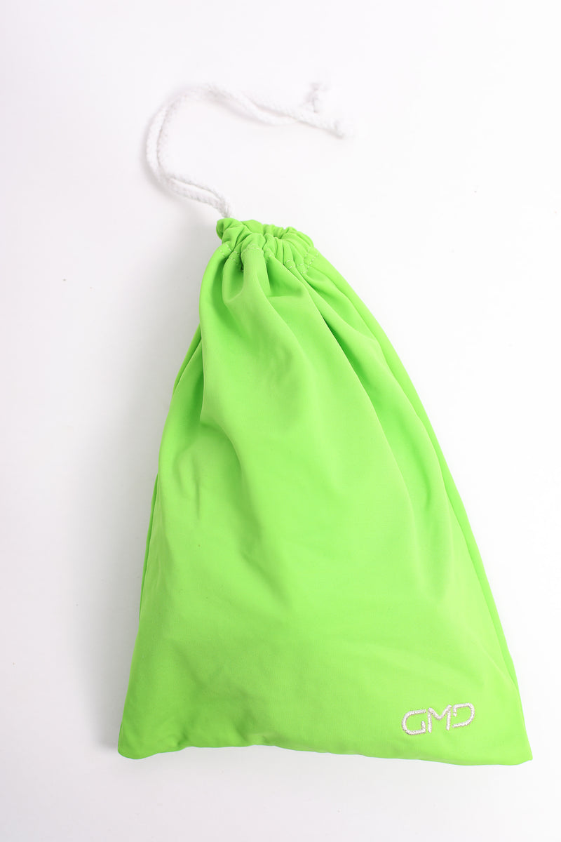 Lime Green Lycra Guard Bag (name optional)