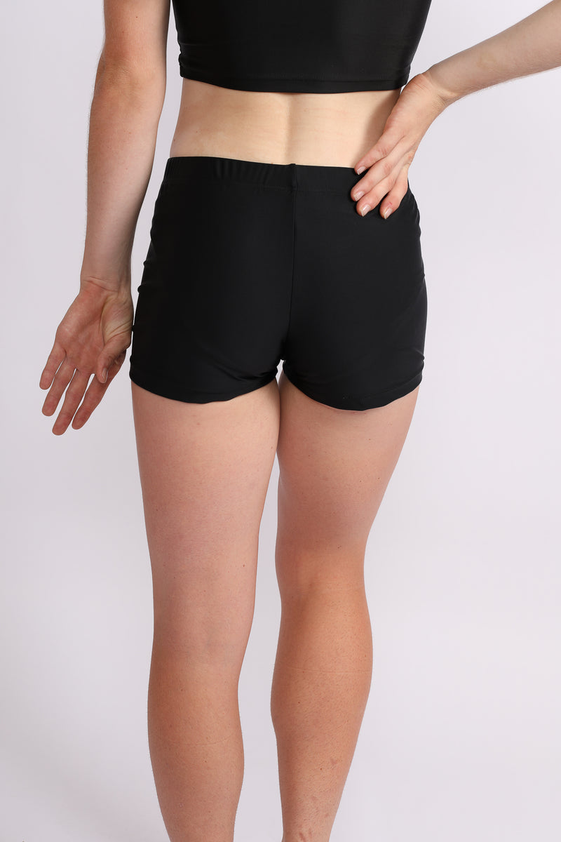 Black Lycra Bike Pants