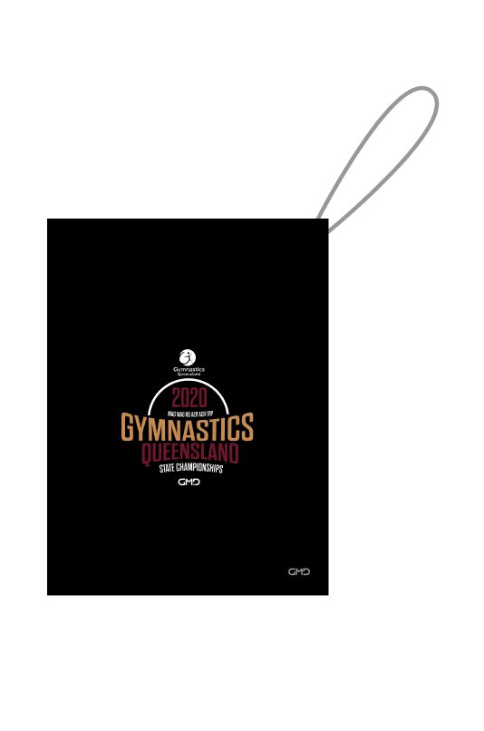 2020 State Championships - QLD Mystique Guard Bag (name optional)