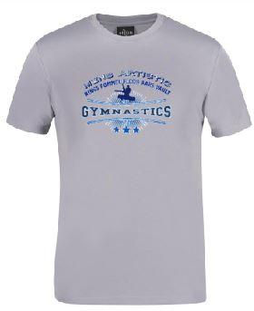 MAG -  Men's Artistic Gymnastics Tee- Grey