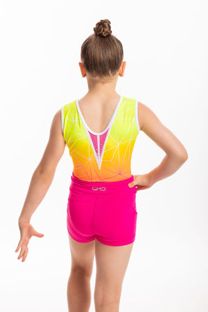 GMD Activewear Australia Hot Pink Gymnastics Shorts