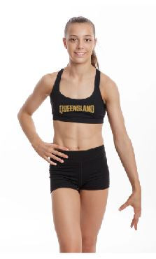 2020 State  Championships -Jet Crop Top