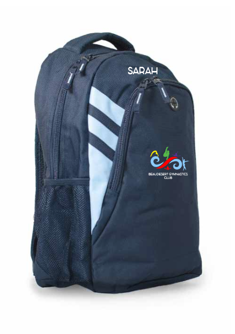 Beaudesert Gymnastics Club Back Pack (name optional)