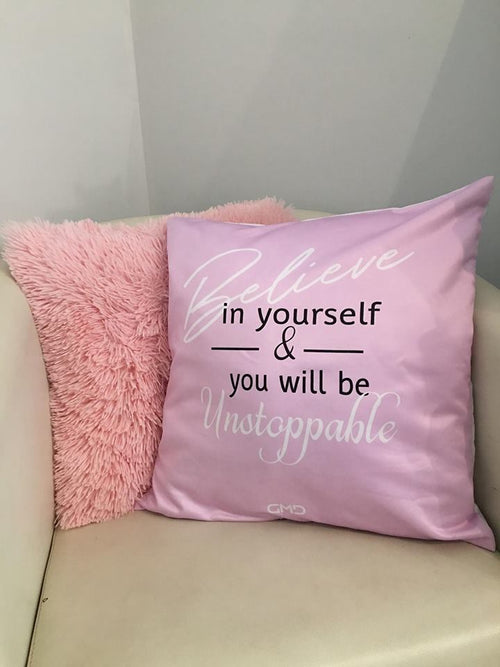 Cushion Cover - Believe in Yourself