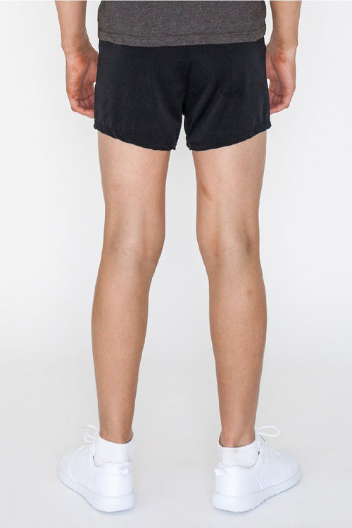 Boys Black Gymnastics Training Shorts