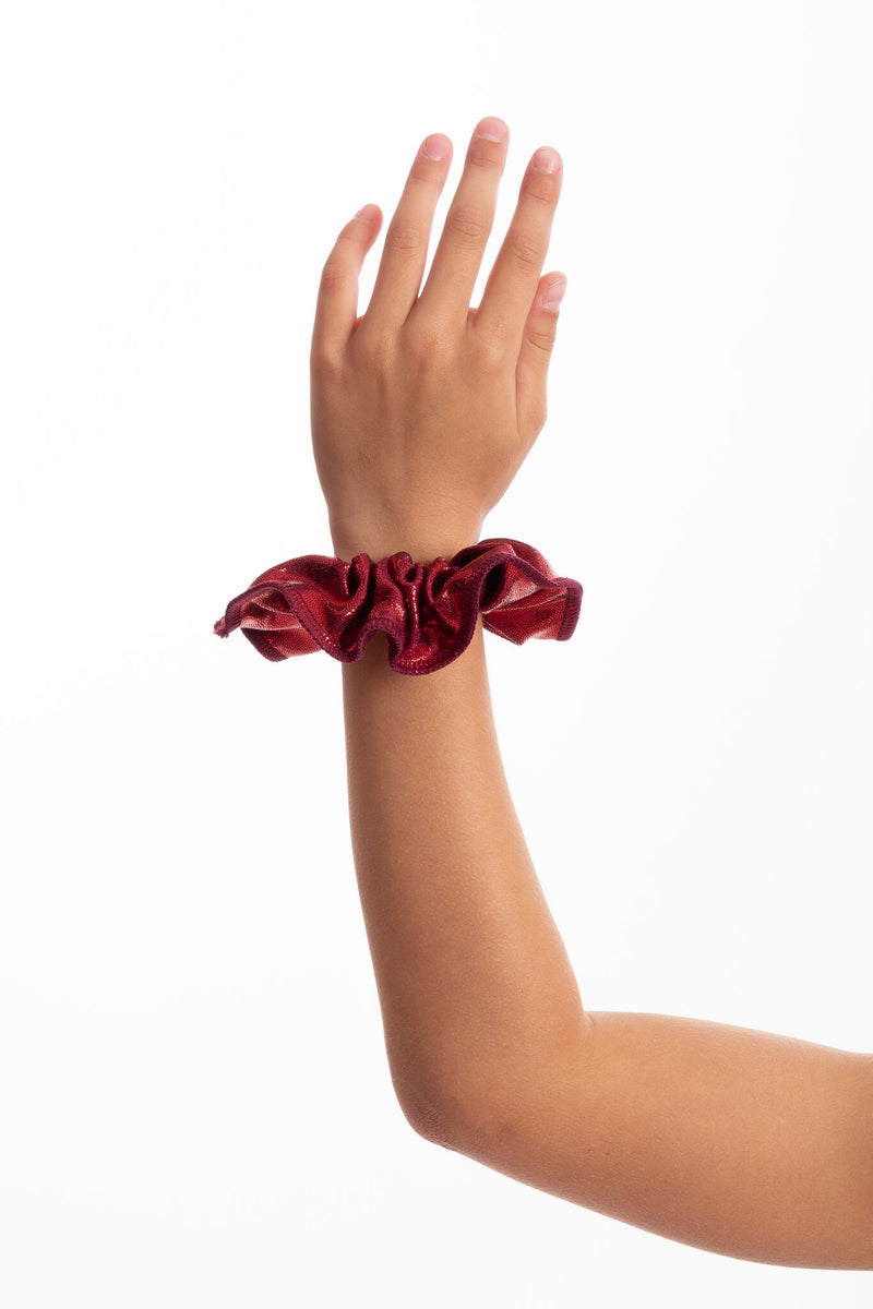 Burgundy Mystique Scrunchie