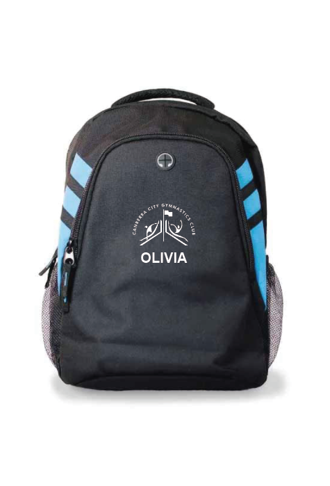 Canberra City Back Pack (name optional)
