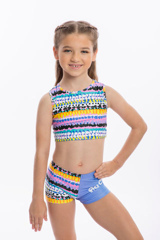 Confetti Motivational Leotard/ Swimsuit- SALE