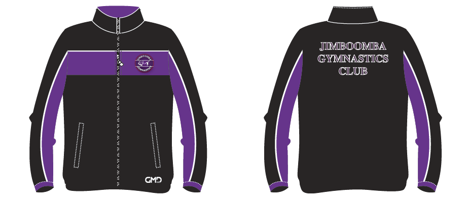 Jimboomba Gymnastics- Tracksuit JACKET ONLY- In stock