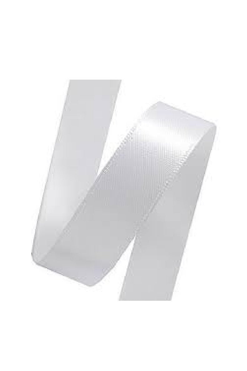 Delta Brisbane White Satin Ribbons