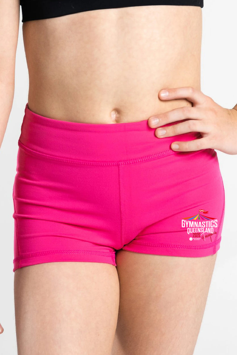 Extravaganza Hot Pink Shorts