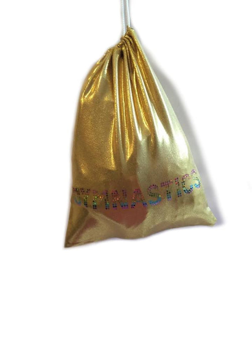 Gold Mystique Glitter Gymnastics Guard Bag