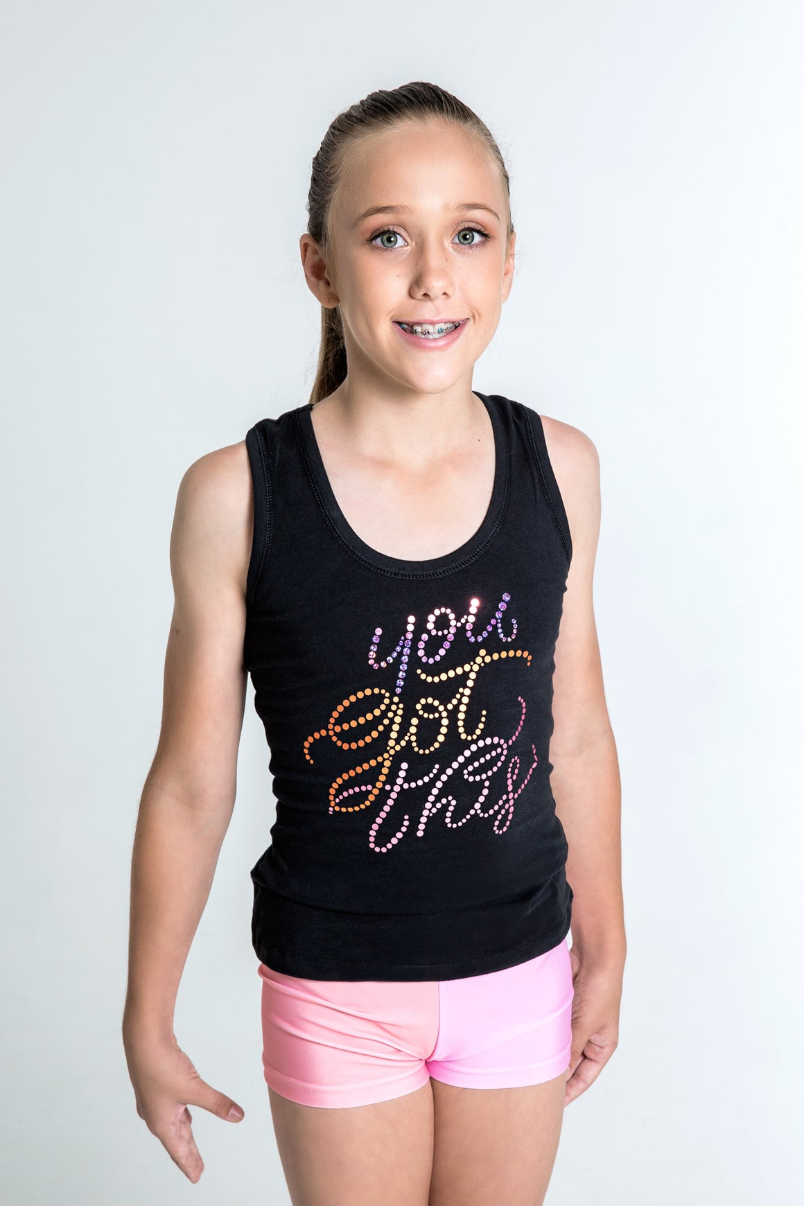 You Got This Motivational Sequin Singlet
